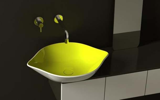limon-şeklinde renkli-lavabo-tasarımı
