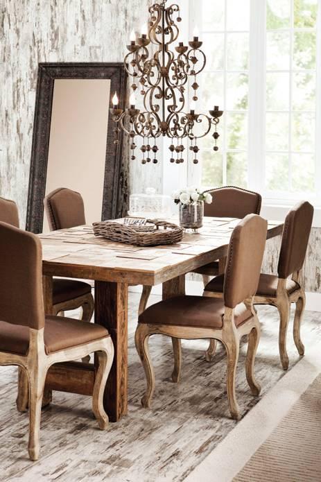 mudo yemek masası takımı