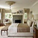 Nötr Renklerle Yatak Odası Dekorasyonu