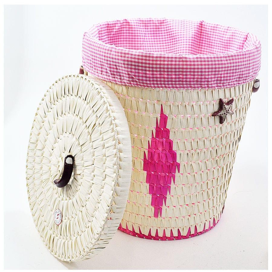 Dekoratif Hasır Banyo Sepeti Modelleri