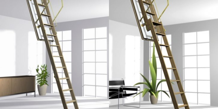 Katlanabilir Çatı Merdiveni Modelleri 2015