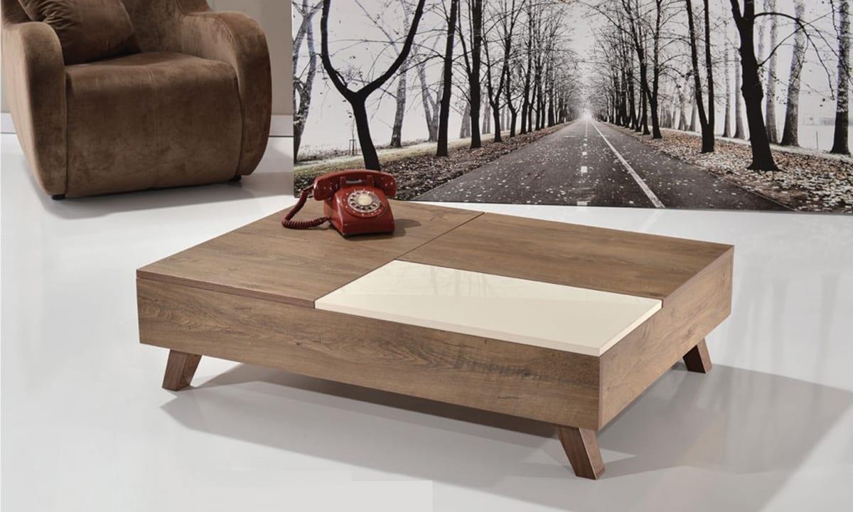tarz mobilya sanat fonksiyonel orta sehpa