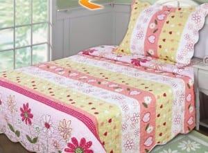 tek-kisilik-genc kız yatak örtüleri