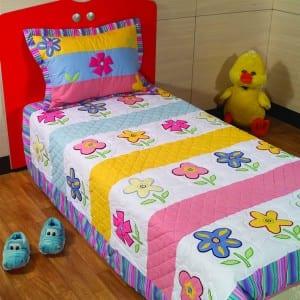 tek_kisi_camellia çocuk yatak örtüsü