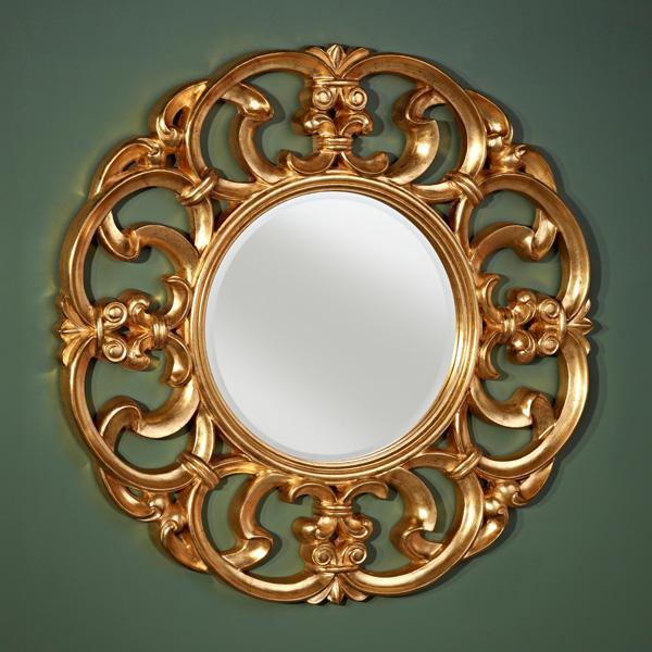 Varak Ayna Modelleri - Yuvarlak Varak Ayna