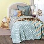 Zara home pantiyeli yatak örtüsü 2018