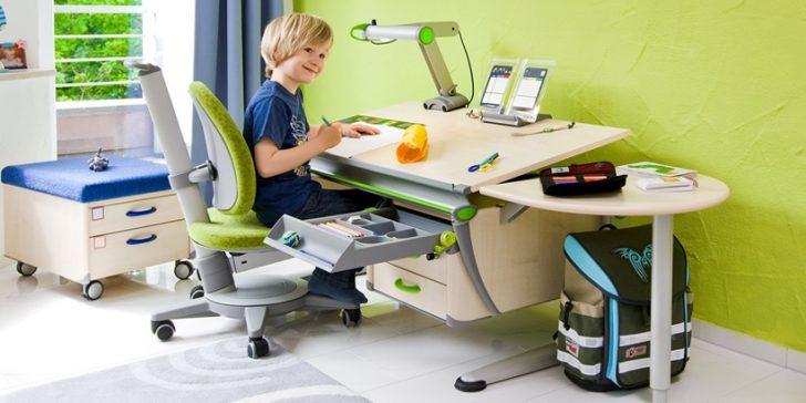 Çocuklar İçin Yeni Moda Ders Çalışma Masası Modelleri