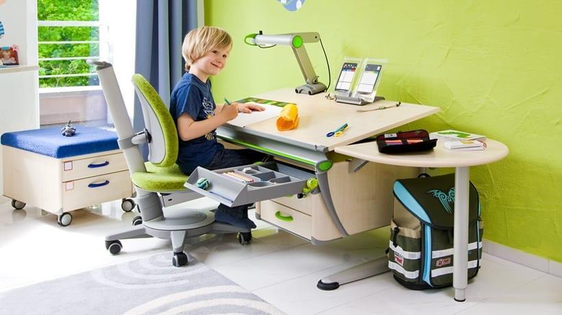 çocuklara özel çalışma masası modelleri