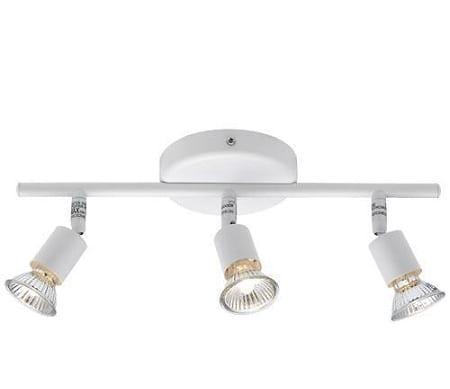 İkea 3 lü beyaz modern spot aydınlatma modeli