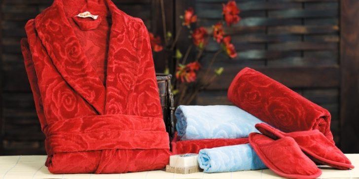 Özdilek Yeni Moda Banyo Havlu Bornoz Setleri
