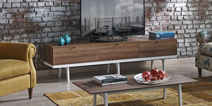 Kelebek Mobilya Modern TV Ünitesi Modelleri 2015