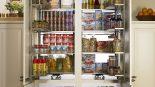 Modern Tasarımlı 2017 Mutfak Kiler Dolapları