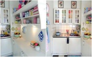 Rengarenk Mutfak Rafları
