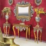 altın renkli klasik Dresuar Modelleri