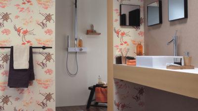Suya Dayanıklı Banyo Duvar Kağıdı Modelleri