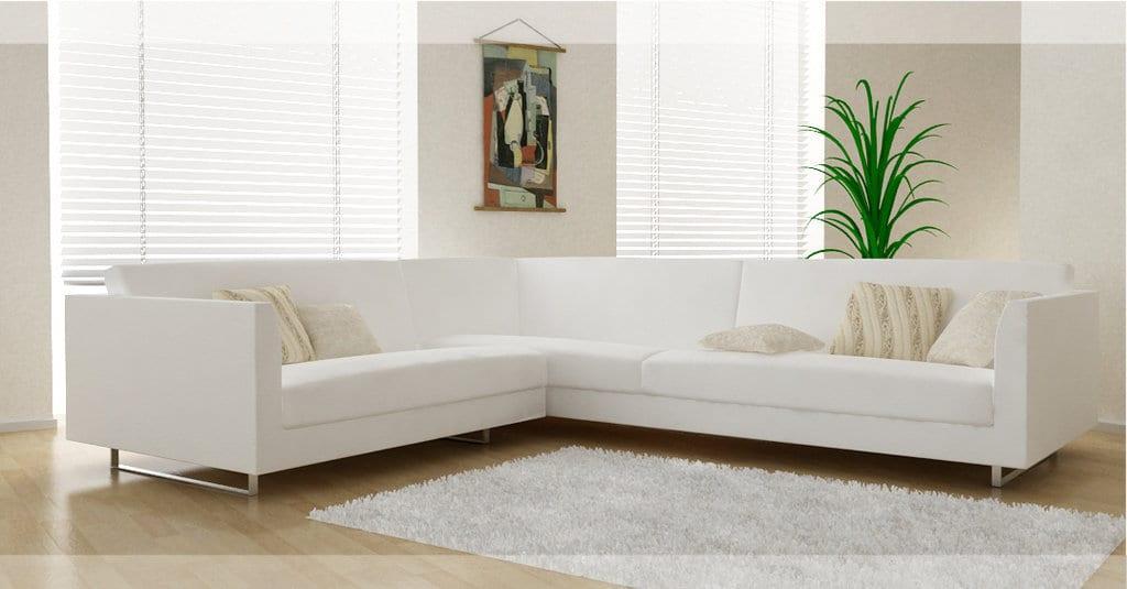 beyaz köşe koltuk modeli