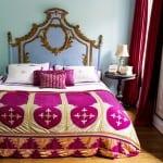 bohem stili yatak odası