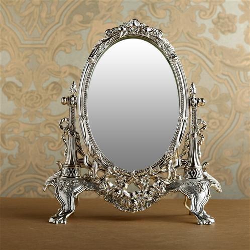 dekoratif gümüş ayna