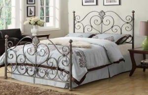 demir profil yatak odaları