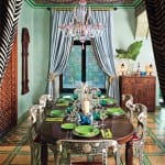 etnik yemek-odasi-dekorasyonu