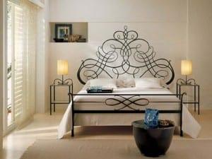 ferforje yatak odası modelleri