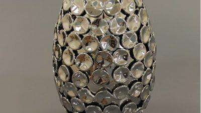 Gösterişli Gümüş Salon Aksesuarı Modelleri