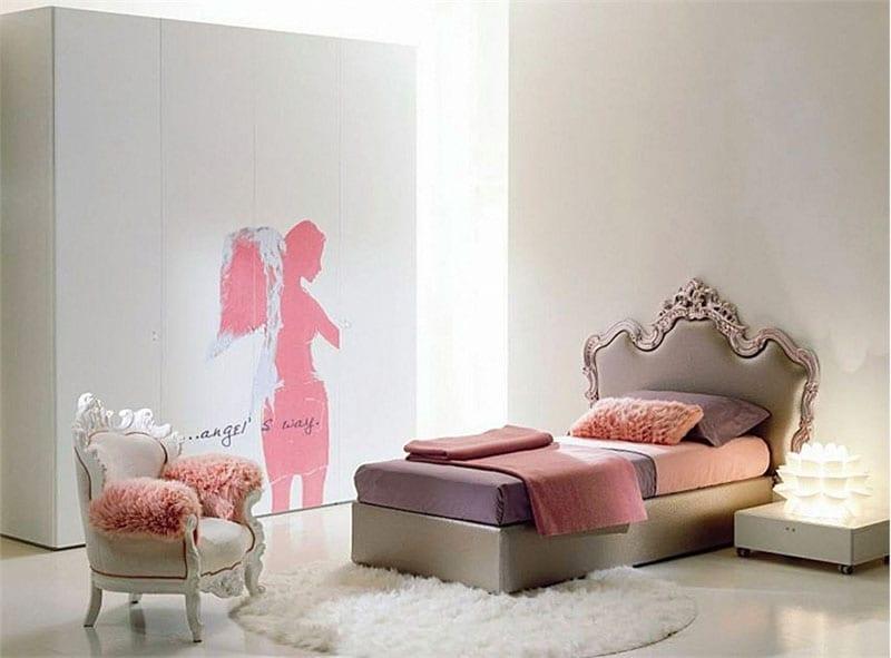 genç kız oda dekorasyonu