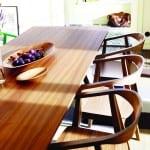ikea ahşap yemek masası modeli