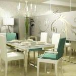 ikea beyaz yemek masası