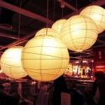 ikea kağıt lamba(japon feneri)