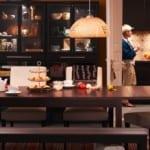 ikea modern tasarımlı yemek masaları