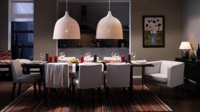 İkea  Modern Yemek Masası Modelleri