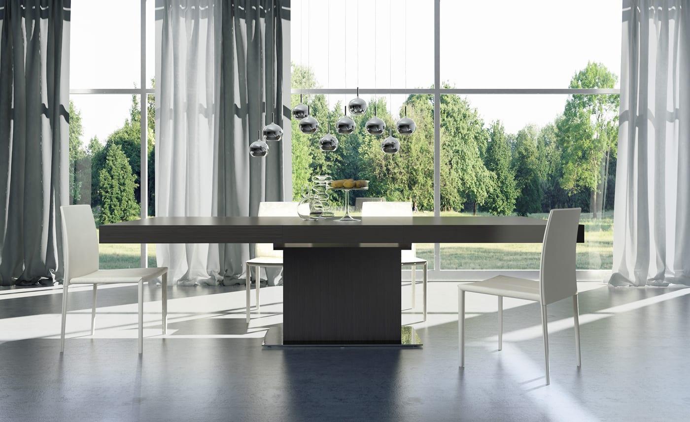 modern ahşap yemek masası