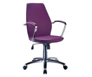 mor bomos çalışma koltuğu