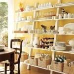 Mutfak duvar rafları