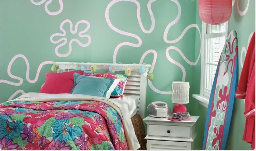 rengarenk kız odaları