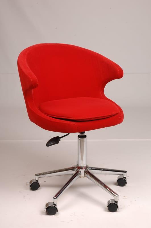 renkli modern çalışma sandalyeleri