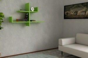 renkli modern-duvar-rafları