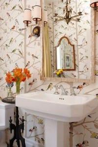 Resimli Banyo Duvar Kağıdı