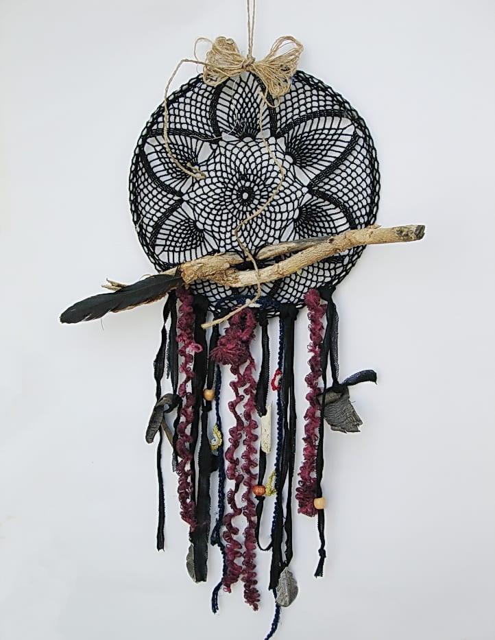siyah dreamcatcher