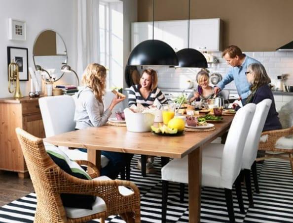 yemek masası modelleri ikea