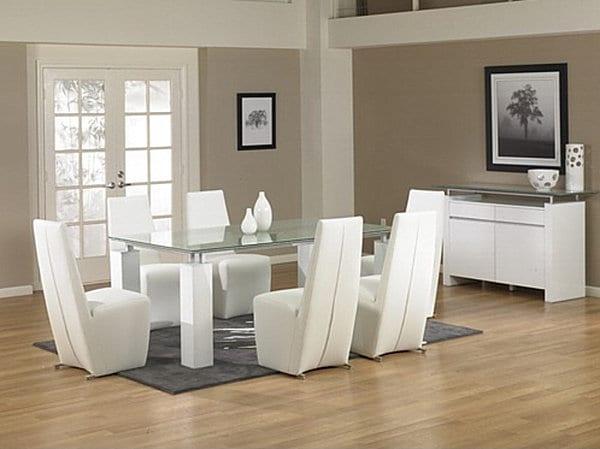 yeni moda yemek masası takımı