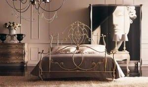 yeni trend ferforje yatak odaları
