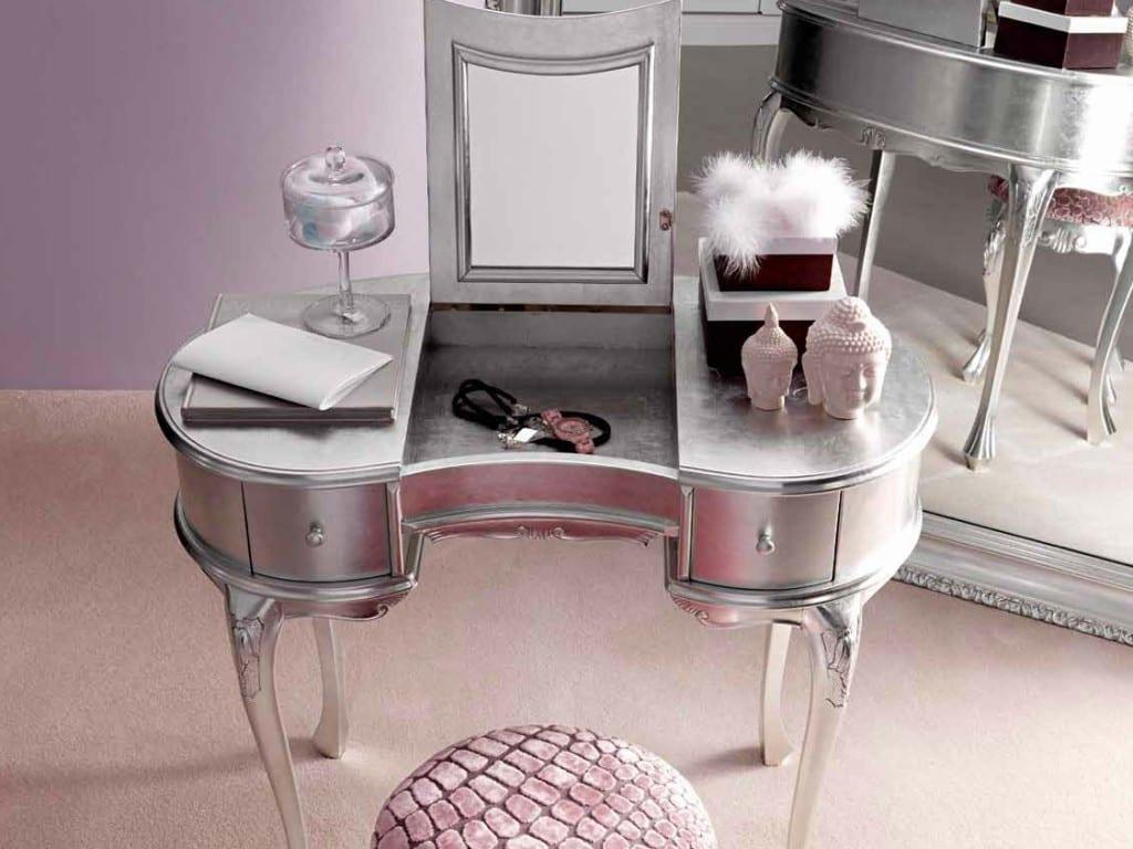 İkea Makyaj Masası : Modern Gümüş Renkli