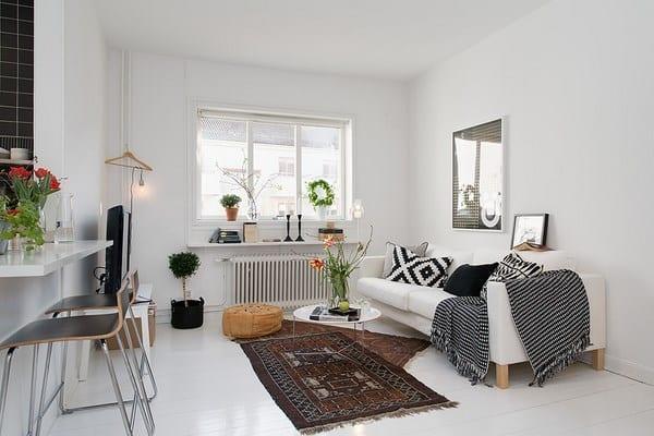 İskandinav Tasarımlarının Buluştuğu Ev Dekorasyonu