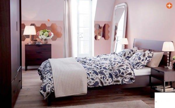 2015 ikea yatak odasi