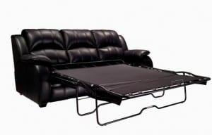 Deri yatakli kanepe modeli