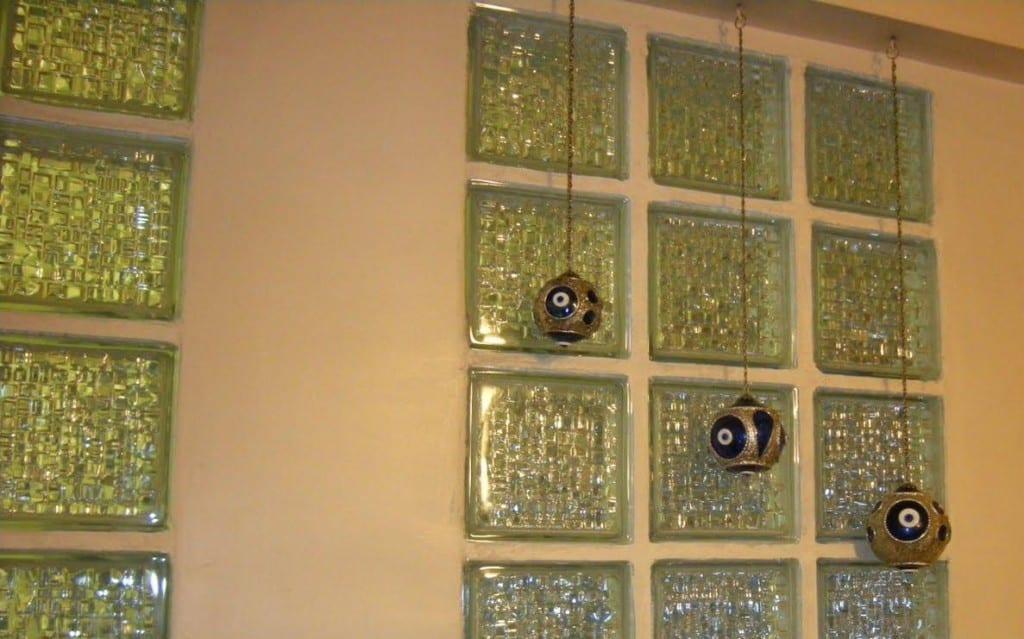 Estetik cam tuğla örnekleri