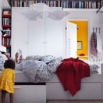 IKEA beyaz  yatak odası