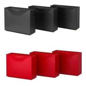 Ikea Plastik üç katlı Ayakkabilik Modelleri